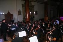 Orquesta Sinfónica de la ULS se presentó en Vicuña cerrando el Mes Mistraliano
