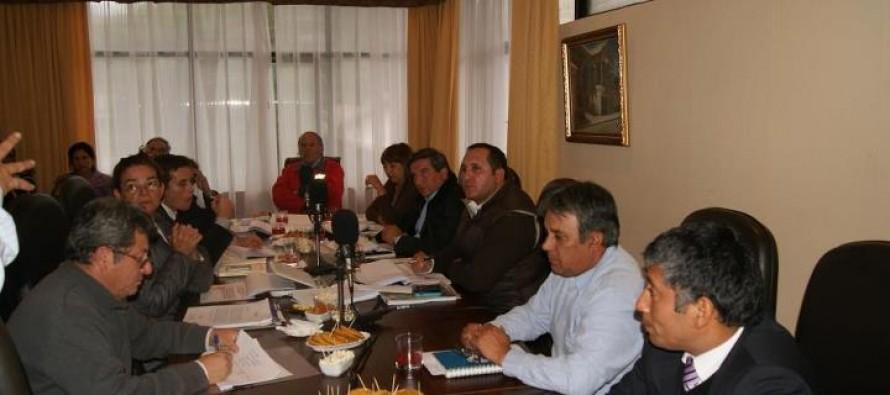 Concejo Municipal de Vicuña prioriza proyectos FNDR 2013 junto a Gobernador de Elqui