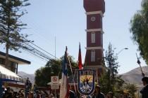 Vicuña rinde homenaje a  las Glorias Navales ante un imponente marco de público