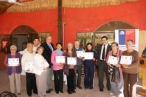 40 adultos mayores vicuñenses cerraron su ciclo de participación en programa Vínculos