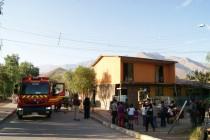 Incendio en Vicuña consume pieza en vivienda de población O´Higgins