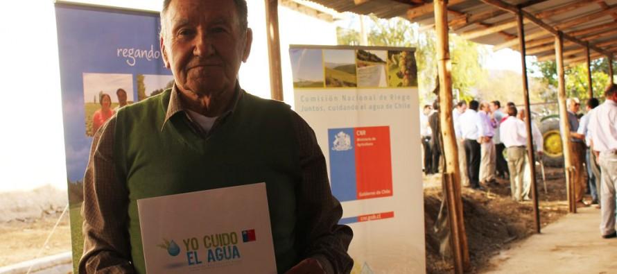 En Peralillo se realiza nueva entrega de bono que otorga el Concurso de la Ley de Riego de la CNR