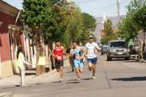Incentivan el deporte y la vida sana a través de  corrida familiar en las calles céntricas de Vicuña
