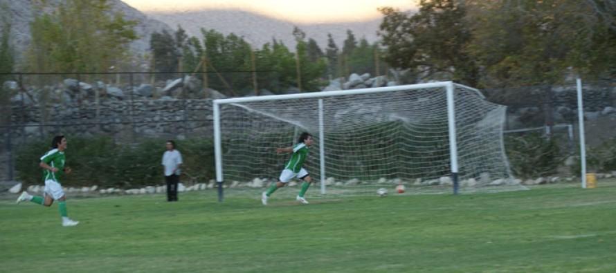 Unión Esperanza y Unión Pisco son los punteros del Campeonato ANFUR del Valle de Elqui