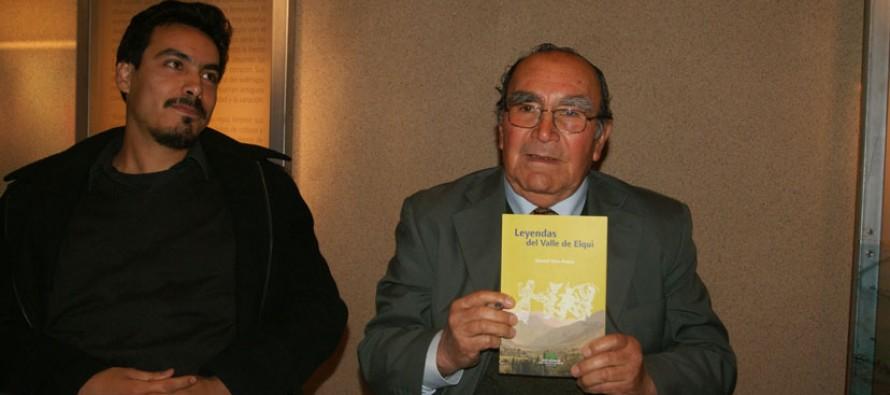 """Vicuñense lanza libro """"Leyendas del Valle de Elqui"""" las que le fueron contadas oralmente"""