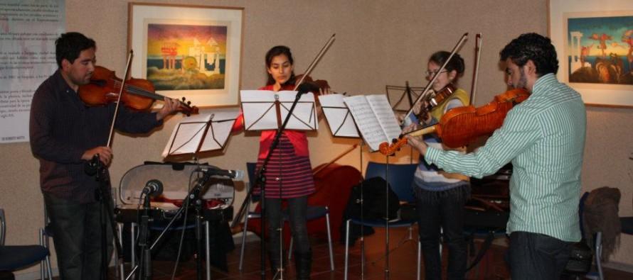 Museo Gabriela Mistral fue el escenario en donde se presentaron los integrantes de la YOA