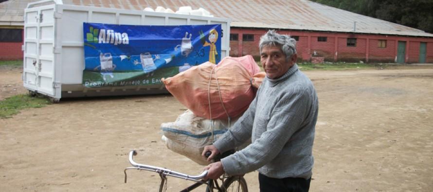 Paihuano y Vicuña colaboraron en la recolección de 6.530 kilos de envases vacíos fitosanitarios