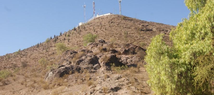 """""""Sendero del Vía Crucis"""" le cambiará el rostro al Cerro de la Virgen de Vicuña"""