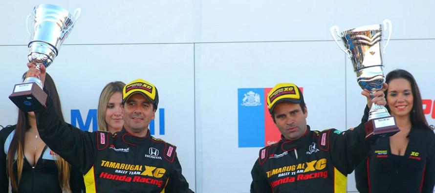 Jorge Martínez y Carlo de Gavardo fueron los ganadores del RallyMobil que se corrió en la zona