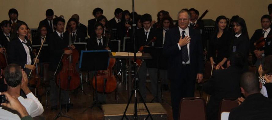 Orquesta de las Américas es recibida en Chile y prepara presentaciones en Vicuña y la Región