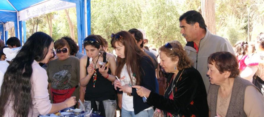 Mujeres elquinas se reúnen con sus productos en la Primera Feria de Emprendedoras de Vicuña