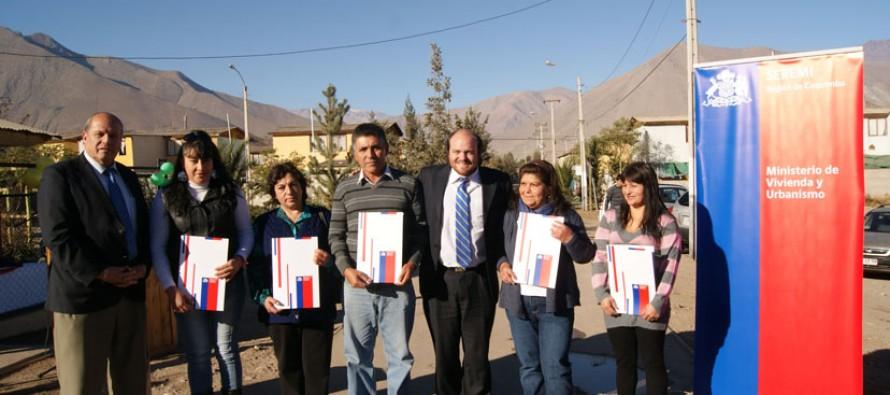 Familias de la población Manuel Rodríguez mejorarán sus viviendas con recursos del MINVU