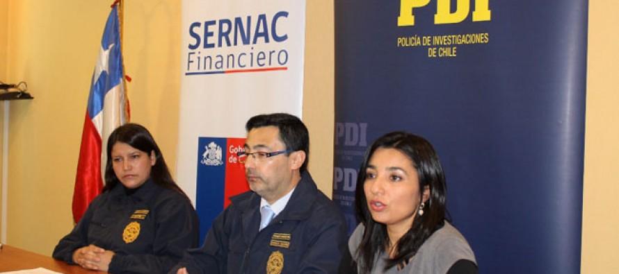 Sernac y PDI advierten a la comunidad sobre llamados de falsos funcionarios
