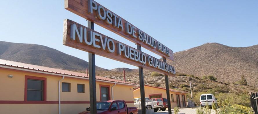 Posta de Gualliguaica está lista para ser utilizada por los vecinos luego de entrega de la empresa