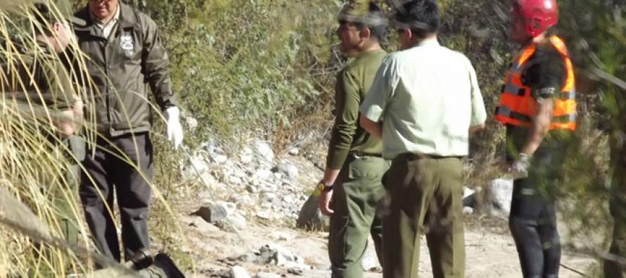 Sin vida en el Río Elqui apareció adulto mayor buscado desde hace cinco días por sus familiares