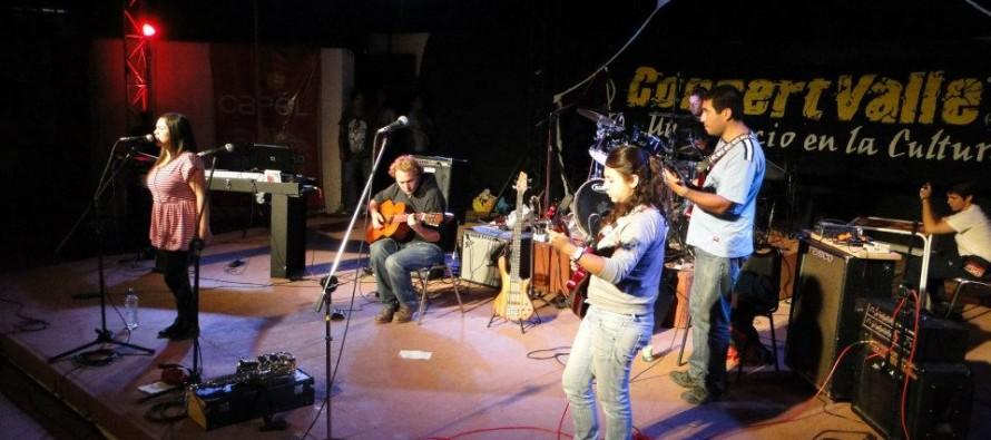 """Bandas elquinas plasmaron sus singles en el disco """"Concert Valle: Música de las Estrellas"""""""