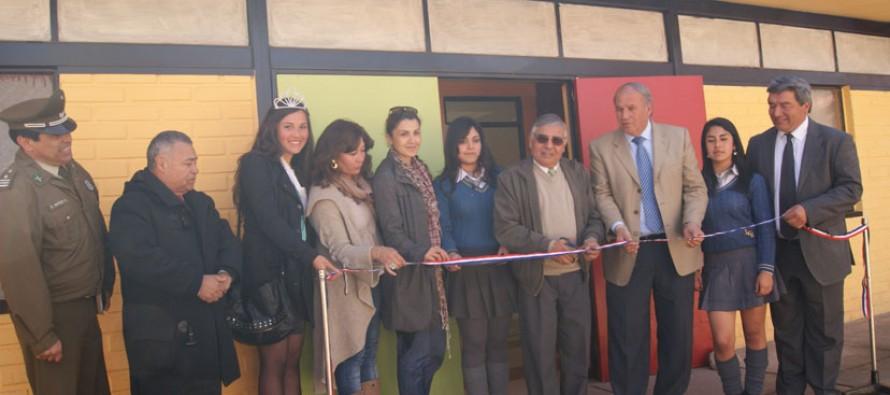 Invierten 50 millones de pesos en remodelación del internado del Liceo Carlos Mondaca Cortés
