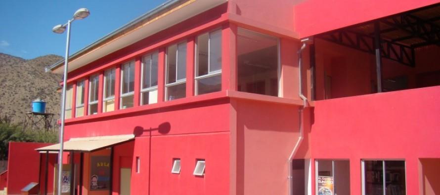 Inauguran mejoramiento internado del liceo y ampliación de escuela de Nueva Talcuna