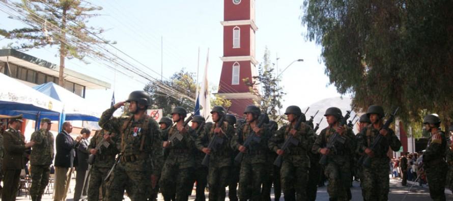 Vicuña y Paihuano le rinden homenaje a las Glorias del Ejército ad portas de un nuevo aniversario patrio