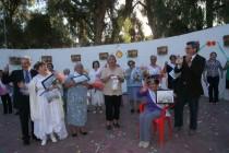 Adultos Mayores celebraron su mes con reina y bus nuevo para viajar por el país y el extranjero