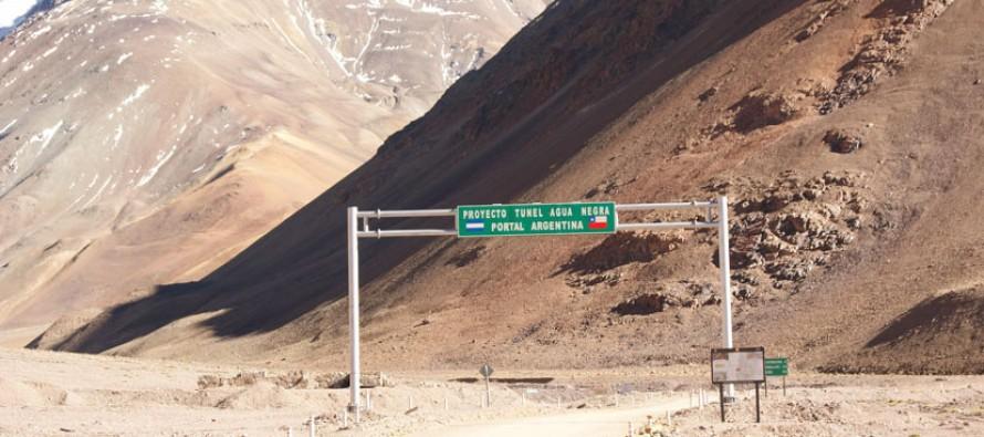 Diciembre será clave por publicación de   convocatoria para construcción del túnel  Agua Negra