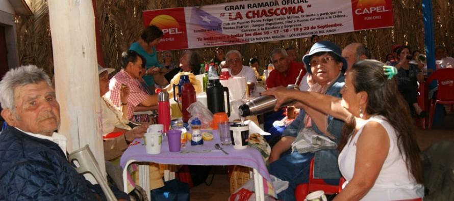 Ramada La Chascona será el centro de las celebraciones de la Pampilla del Adulto Mayor