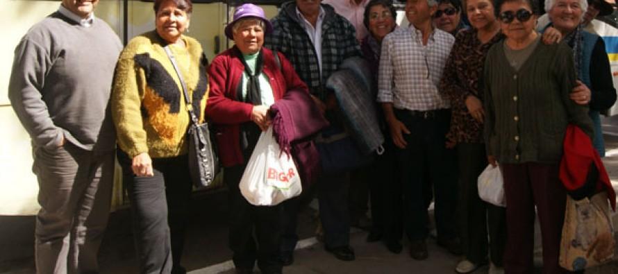 Incentivan a adultos mayores de la comuna a participar de los viajes de Sernatur