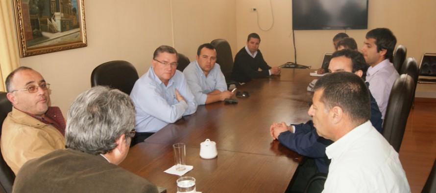 Nuevo director regional de ONEMI visita Vicuña luego de su presentación oficial