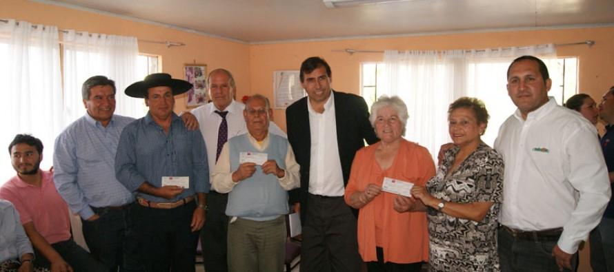 Destacan cantidad de proyectos adjudicados en Vicuña en Fondo Presidente de la República
