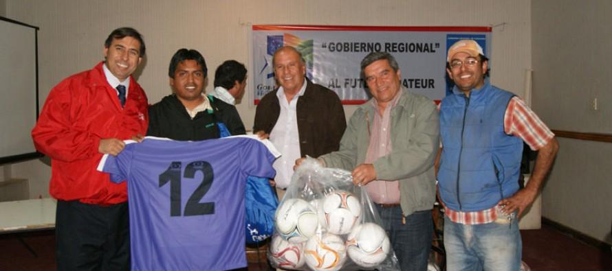 Fútbol amateur elquino recibe implementación para el desarrollo de las distintas divisiones