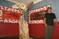 """Invitan a visitar la exposición artística """"Trasvase"""" en Teatro Municipal de Vicuña"""