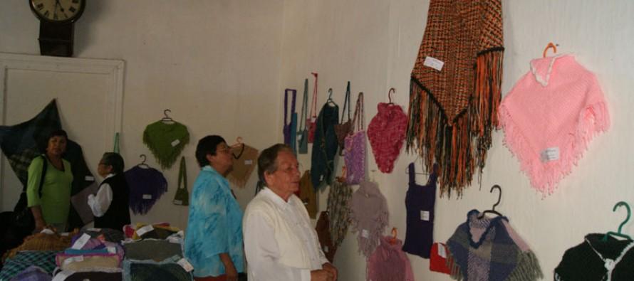 Mujeres elquinas buscan nuevas formas de negocios a través de la técnica del tejido a telar