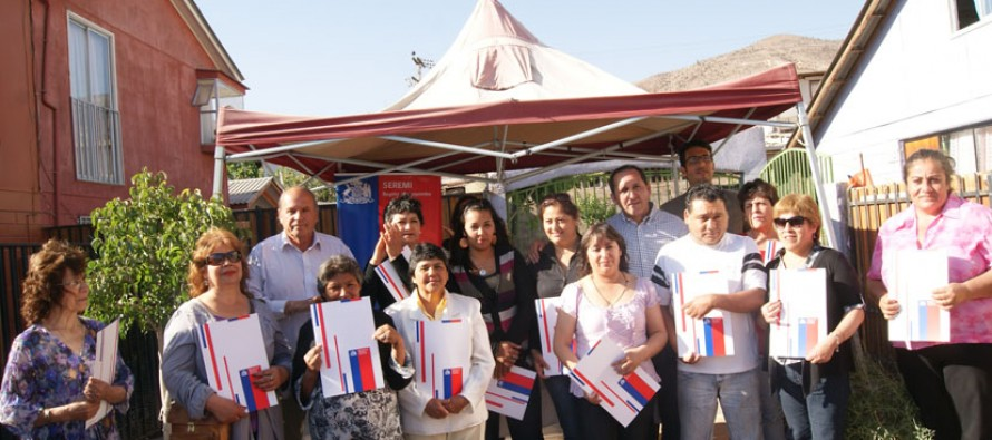 52 familias de Vicuña podrán mejorar sus viviendas a través de subsidios de patrimonio familiar del MINVU