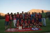 Barrabases consigue el tricampeonato del fútbol femenino elquino luego de superar a Peralillo