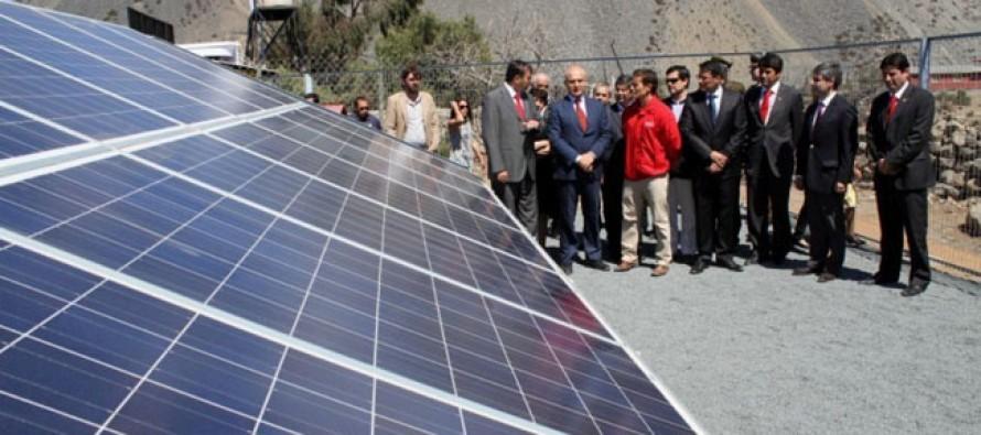 Proyecto de energía solar permite abastecer de electricidad a todo el colegio de El Romeral