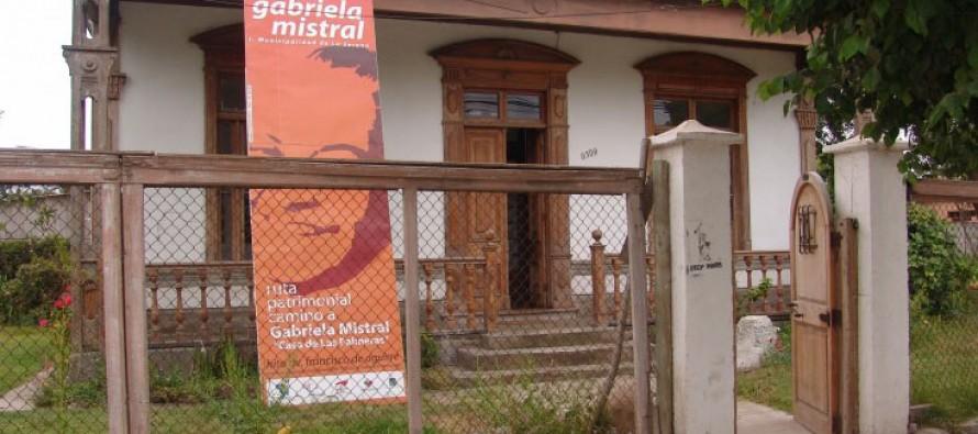 En diciembre se iniciarán los trabajos de reparación de La Casa de Las Palmeras de Gabriela Mistral
