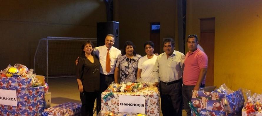 Paihuano inicia celebración de su aniversario 121 con entrega de regalos a niños de la comuna
