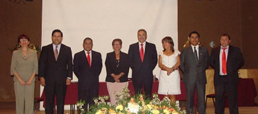 En el Teatro Municipal asumió el concejo y alcalde de Paihuano para el periodo 2012-2016