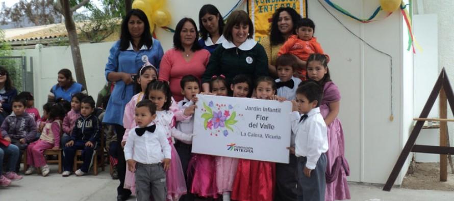 """Jardín Infantil """"Flor del Valle"""" de La Calera cuenta con nuevas instalaciones"""
