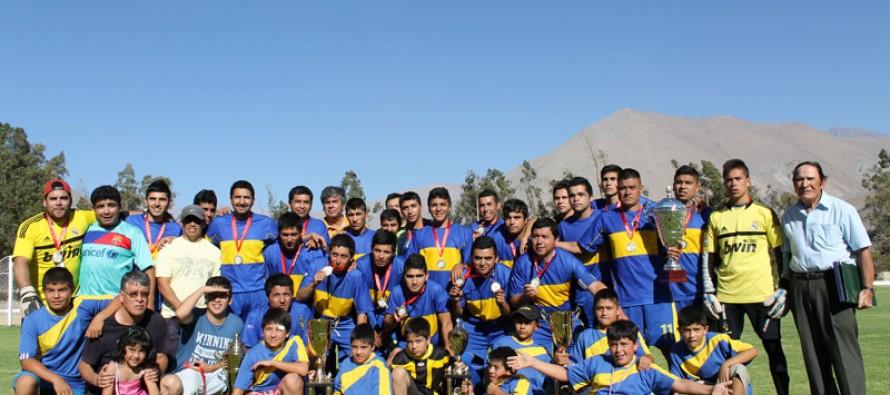 ANFA Vicuña premia a los mejores del campeonato 2012 en las diversas categorías