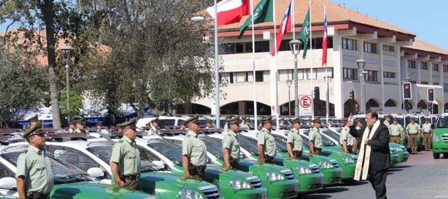 Renuevan vehículos policiales de Vicuña a la espera del Plan Cuadrante de Seguridad