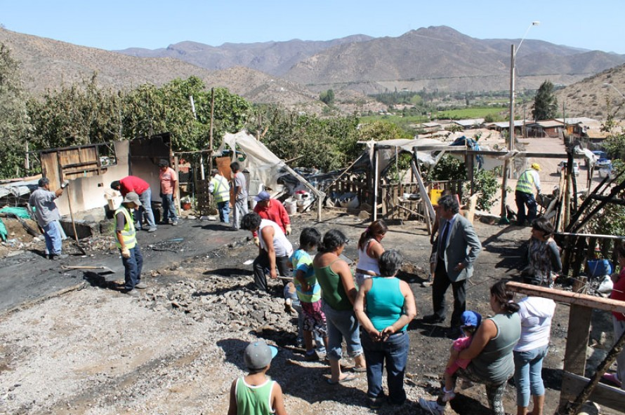 Tr�gico incendio deja sin hogar a familia de Villa Marquesa ...
