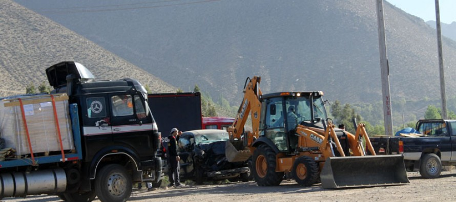 Trágico accidente deja dos personas fallecidas en el sector del puente de Peralillo