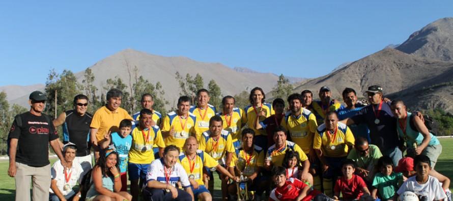C.D Alameda suma su cuarta copa del año y se queda con el campeonato senior 35