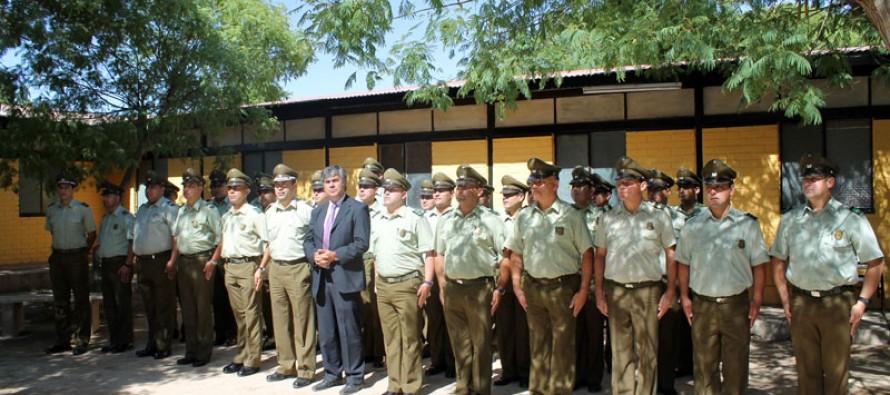 Carabineros redobla contingente para seguridad en verano en el valle de Elqui