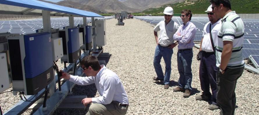 Planta solar de El Tambo Real realiza pruebas de conexión eléctrica