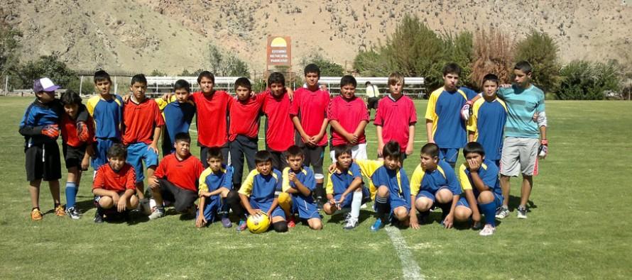Niños elquinos comparten en torno el deporte a través de gestión de Carabineros