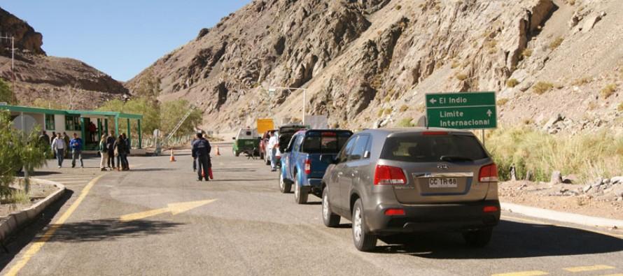 Luego de breve suspensión habilitan tránsito vehicular en Ruta Internacional Gabriela Mistral 41 CH -150 ARG