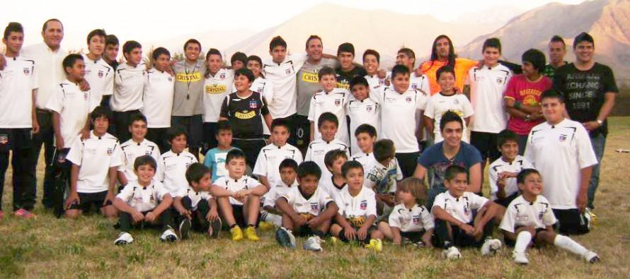 Escuela de fútbol de Colo-Colo busca nuevos talentos en el Valle de Elqui