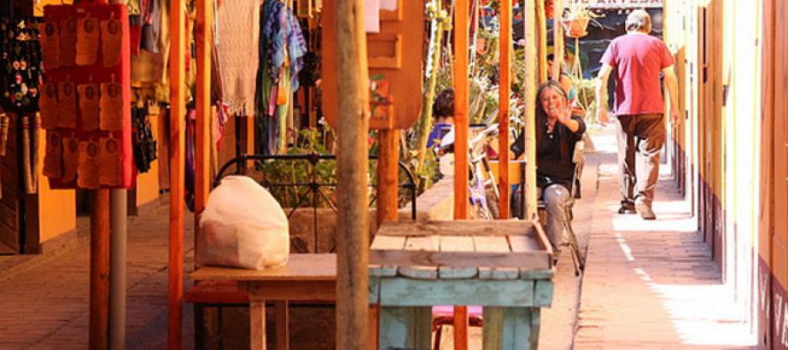 Pueblo de Artesanos de Vicuña dan a conocer su arte a través de campaña de difusión